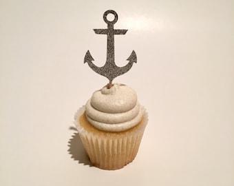 Anchor Cupcake Topper
