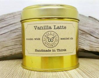 Vanilla Latte Candle Tin