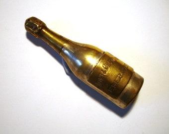 A Champagne Bottle Salt Shaker - Moet & Chandon