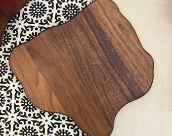 Walnut cutting board/ cheese tray