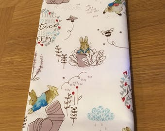 Peter rabbit burp cloth