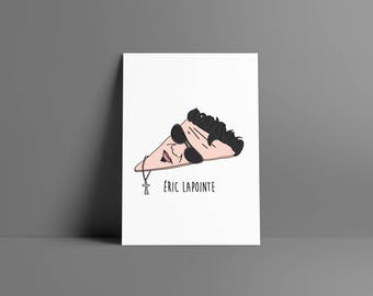 The boy • Éric Lapointe • poster & card