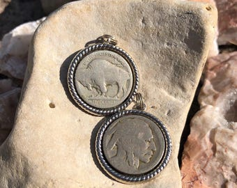Buffalo Nickel Pendant His / Hers