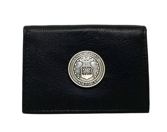 Air Force Business Card Case – Metallic