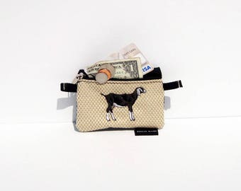 Nubian Goat Coin Purse