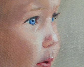 11x14 Custom Oil Portrait from Your Photographs