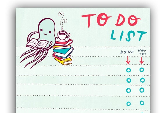 Octopus To Do List