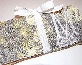 Jewelry Organizer, Travel Jewelry Roll, Travel Jewelry Case, Jewelry Roll Bag, Bridesmaids' Gift, Personalized Gift, Gift for Her