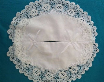 Crochet Tissue Box Cover (Standard Size)
