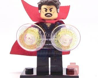 DR STRANGE Movie Inspired Minifig Blocks Marvel MCU  Uk Seller