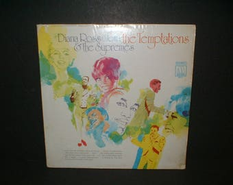 Original Super Condition 1968 Diana Ross Join The Temptations & The Supremes Motown MS 679 Record Album