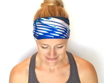Running Headband - Workout Headband - Fitness Headband - Yoga Headband - Shatter