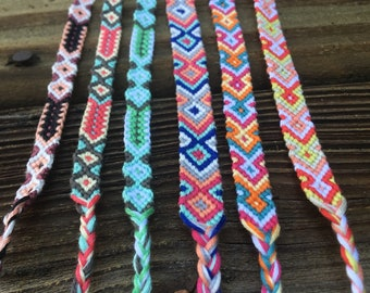 Arrow//Aztec Friendship Bracelet