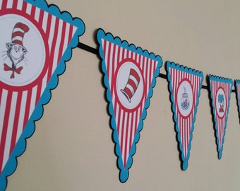 Dr. Suess Bunting banner
