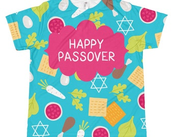 Children's Passover Shirt. Pesach. Jewish Girl Gift, Seder, Jewish Holiday
