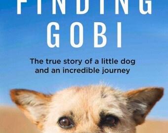 UK Hardback Finding Gobi Autographed & Pawtographed