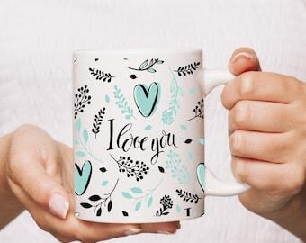 "Mug ""i love you"""