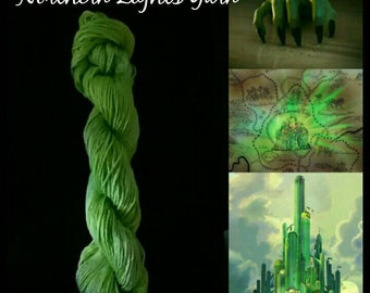 Emerald City Hand-dyed Cotton Yarn