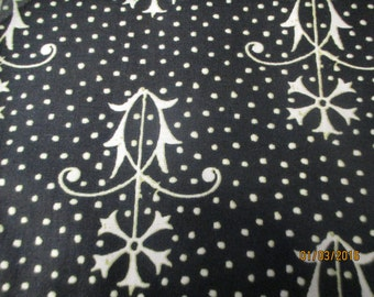 Letter Stitch coordinating fabric from Quilting Treasures