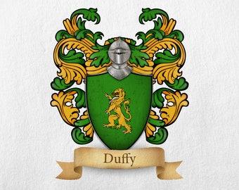 Duffy Family Crest - Print