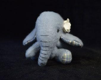 Artist Bear | Elephant | OOAK | Blossom