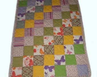 Handmade Patchwork blanket for baby