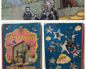 1942 Peter Rabbit the Magician Interactive Book