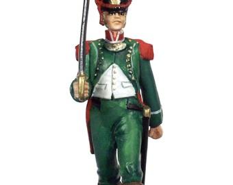 54mm scale Legion Irelandaise Officer pewter miniature - IWG2P