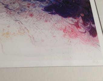 Abstract limited edition prints