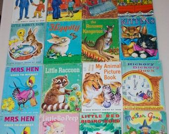 Choose One - Junior Elf Books Rand McNally 1940's 1950's 196's