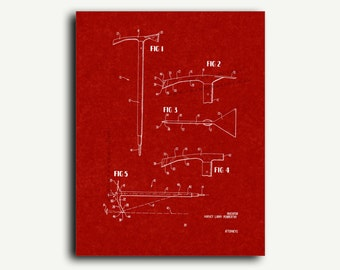Patent Print - Ice Axe Patent Wall Art Poster