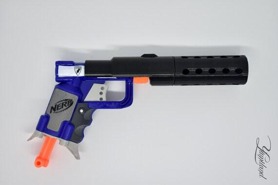 Custom Nerf Jolt Silencer Mod Kit | Steampunk gun | Custom Nerf Gun |  Cosplay Gun | Modded Nerf Gun