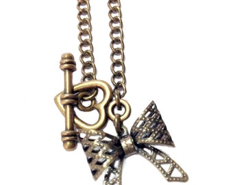 Bow Love Necklace