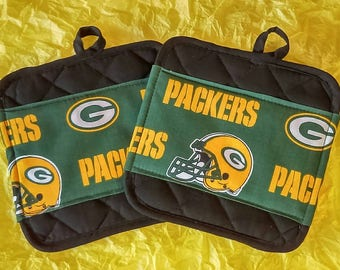 Green Bay Packers Pot Holders - Hot Pads