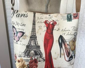 "Vintage Bag, 10"" X 8-1/2"" X 3"""