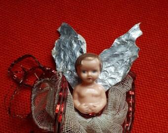 Vintage Christmas Fairy Angel Tree Topper