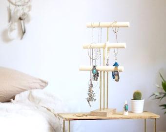 ELIN I Jewelry display - Jewelry Organizer I Necklace Holder I Jewelry stand I Bracelet stand - Jewelry Holder - Jewelry storage
