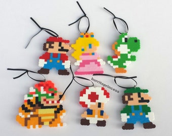 Mario Christmas Ornaments - Super Mario Christmas Ornaments