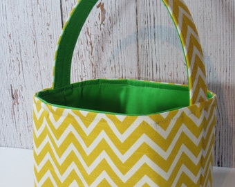 Easter basket, storage bin, candy basket, READY TO SHIP