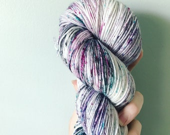 Space Cadet Speckled Sock Yarn