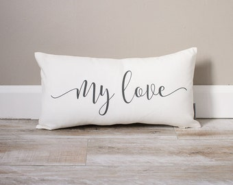 My Love Pillow | Wife Gift | Gifts For Her | Valentine's Day Gift | Valentine's Day Gift For Wife | Gift for Girlfriend