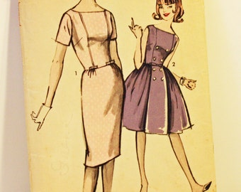 """Vintage 1960s, Sewing Pattern, Advance 2913,  Sew-Easy 2913, Two Skirts, Teen & Junior  Size 16, Bust 36"""", 1960s Pattern, OLD2NEWMEMORIES"""
