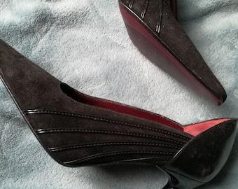 Vintage deadstock pumps heels size 34 eu