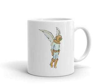 Skydiver Retro Deep Sea Diver Mug
