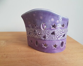 Handmade Ceramic wind light