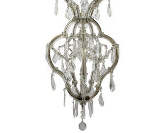 Antique Chandelier Crystal Chandelier Murano Chandelier Vintage Chandelier Vintage Ceiling lamp Antique Italian Chandelier Antique Lighting