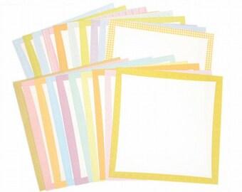 Scrapbook Borders, Scrapbook supplies, diy scrapbook, large scrapbook borders