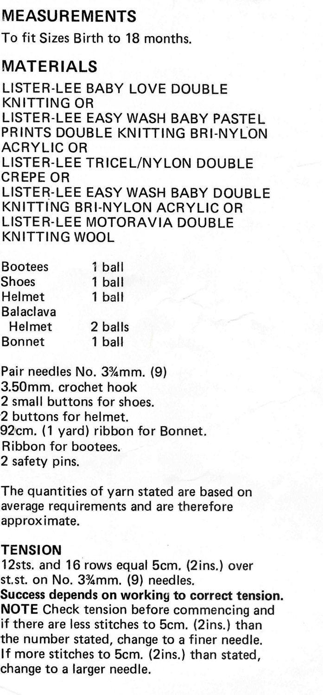 Lujoso Free Easy Knitting Pattern For A Balaclava Ideas - Manta de ...