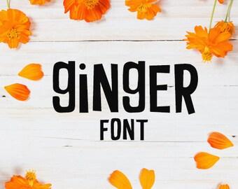 CG Ginger Font