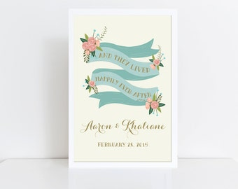 Large Wedding Sign Printable  Welcome Wedding Sign  Reception Sign  Vintage Wedding Sign  Welcome Poster  Wedding Poster  Rustic